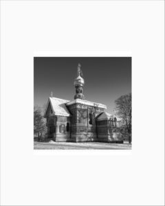 Bad Homberg Church 4.75x4.5 BW P 8x10 PRINT proof