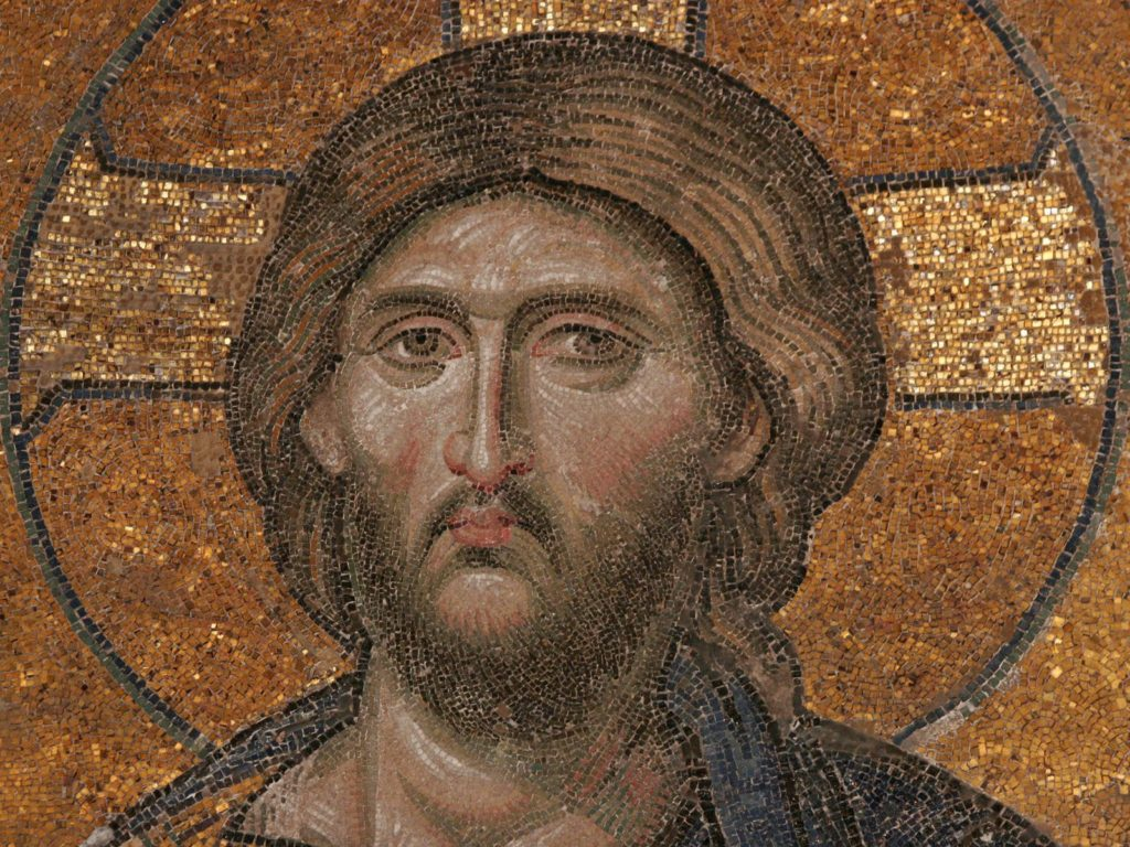 Deesis Mosaic of Christ, 13th Century, Hagia Sophia